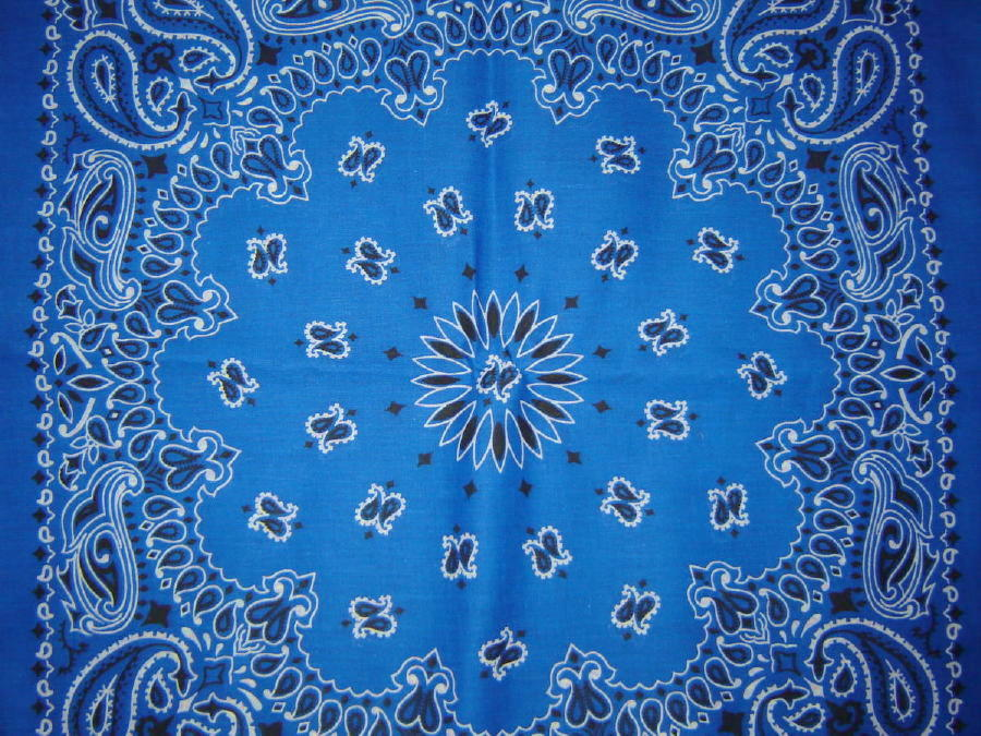 pics photos crip blue bandana